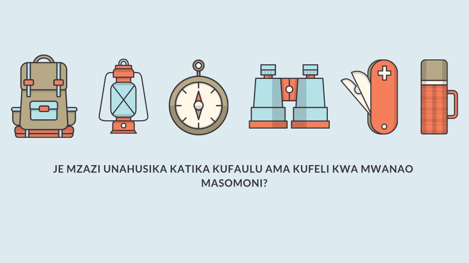 Je mzazi unahusika katika kufaulu ama kufeli kwa mwanao masomoni?